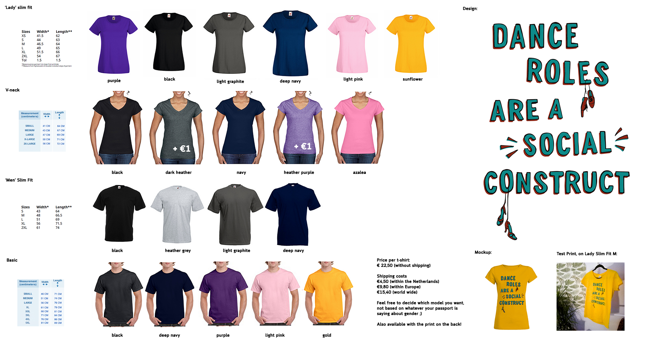 e36989ef 'New t-shirt design, for all the Equality Esquires out there. They come in  every colour of the rainbow.'